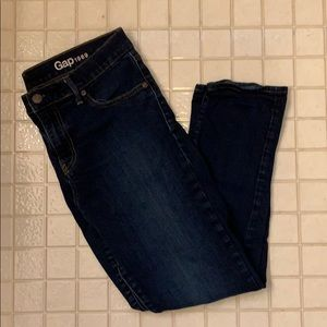 GAP Dark Wash Denim Skinny Jeans